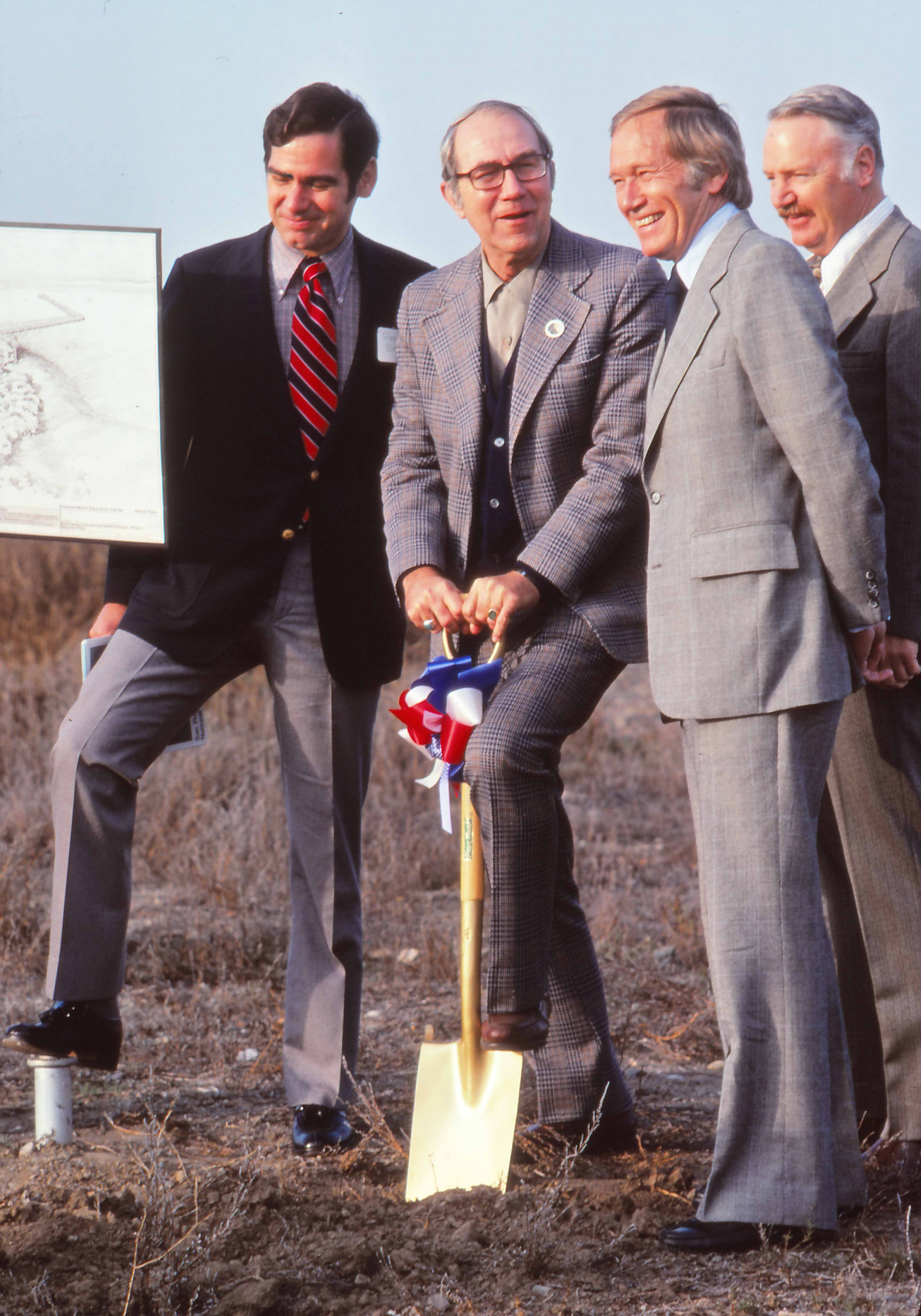 Refuge groundbreaking 1977 with DEdwards1a Santa Clara County